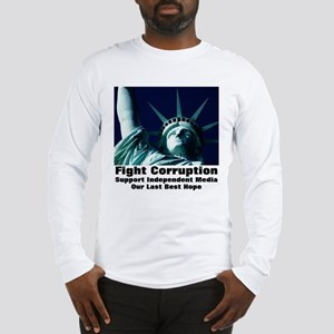 Support Independent Media Long Sleeve T-Shirt