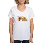 Can't Dance Women's V-Neck T-Shirt