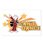 Can't Dance Postcards (Package of 8)
