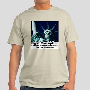 Support Independent Media Light T-Shirt
