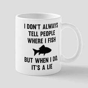 Where I Fish Mug