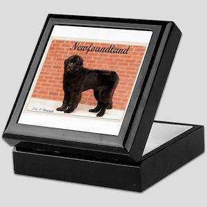 Newfoundland Standing Keepsake Box