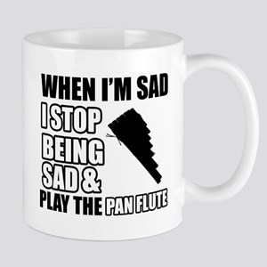 The Pan Flute Design Mugs