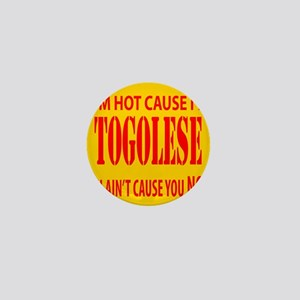 Hot Togolese Mini Button