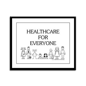 Healthcare 4 Everyone Framed Panel Print