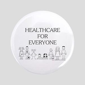 """Healthcare 4 Everyone 3.5"""" Button"""