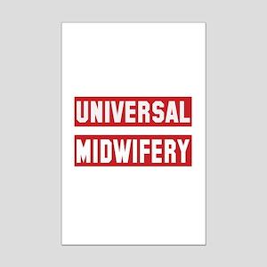 Universal Midwifery Mini Poster Print