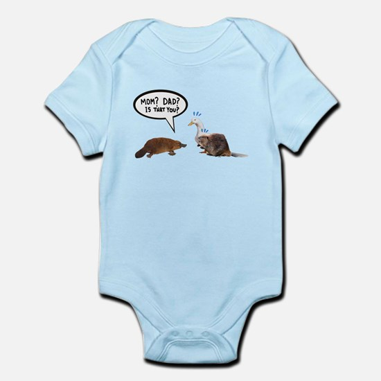 platypus awkward encounter Body Suit