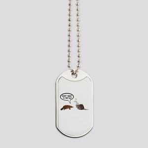 platypus awkward encounter Dog Tags