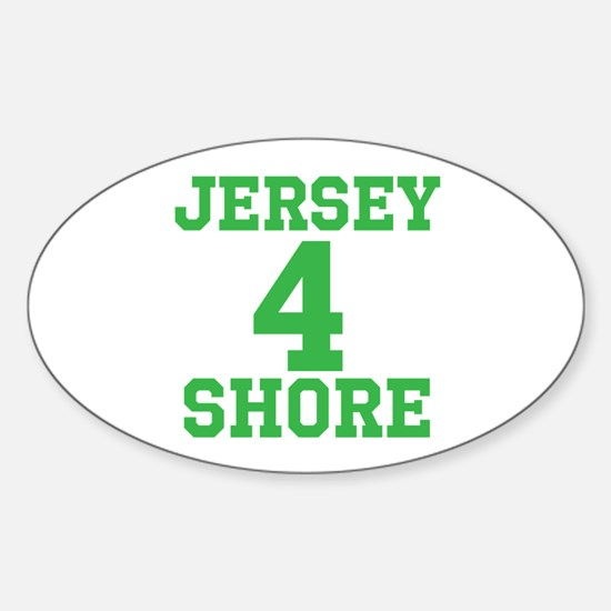 JERSEY 4 SHORE Decal