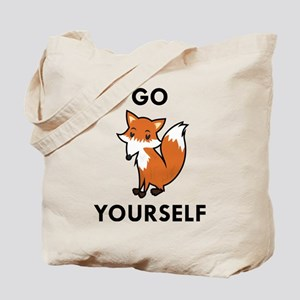Go Fox Yourself Hitch Cover1932213826 Bags - CafePress