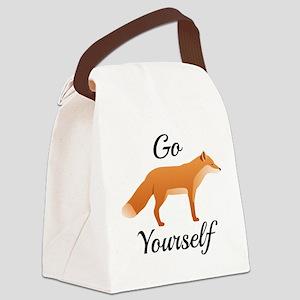 Go Fox Yourself Canvas Lunch Bag