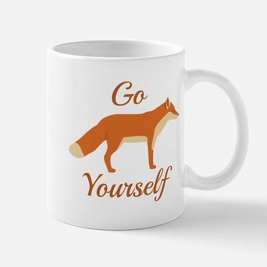 Go Fox Yourself Mug