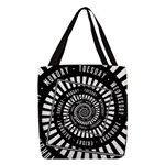 Days of The Week Polyester Tote Bag
