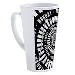 Days of The Week 17 oz Latte Mug