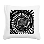 Days of The Week Square Canvas Pillow