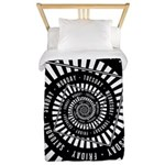 Days of The Week Twin Duvet Cover