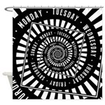 Days of The Week Shower Curtain