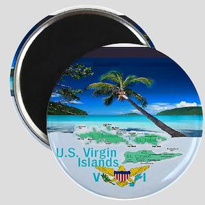 VIRGIN ISLANDS Magnets