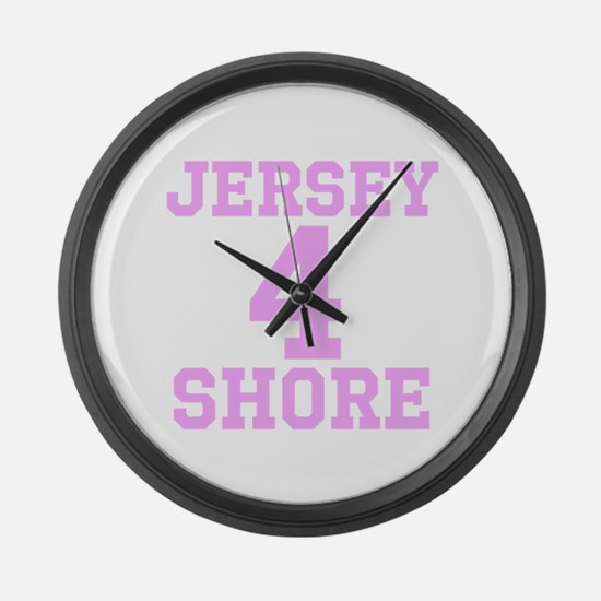 JERSEY 4 SHORE Large Wall Clock