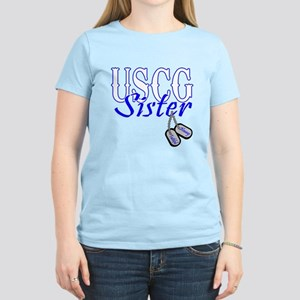 USCG Sister Dog Tag T-Shirt