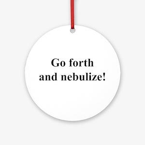 Nebulize Ornament (Round)