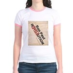 Ron Paul Constitution Jr. Ringer T-Shirt