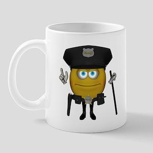 Cop-Emote Mug