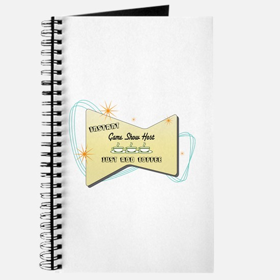 Instant Game Show Host Journal