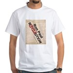 Ron Paul Constitution White T-Shirt