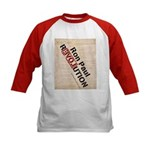 Ron Paul Constitution Kids Baseball Jersey