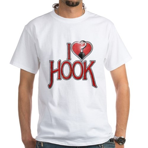 I Heart Hook White T-Shirt