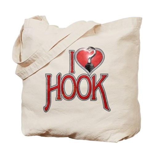 I Heart Hook Tote Bag