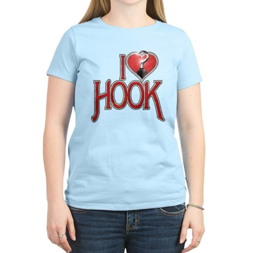 I Heart Hook Women's Light T-Shirt