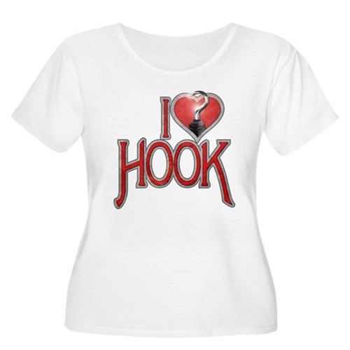 I Heart Hook Women's Plus Size Scoop Neck T-Shirt