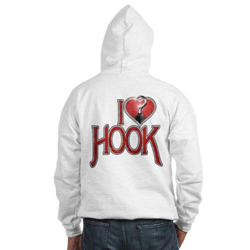I Heart Hook Hooded Sweatshirt