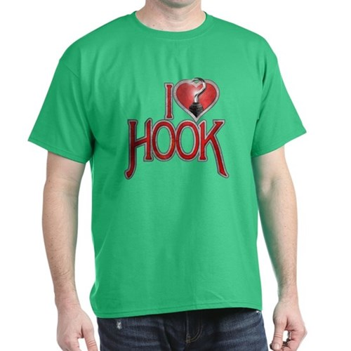 I Heart Hook Dark T-Shirt