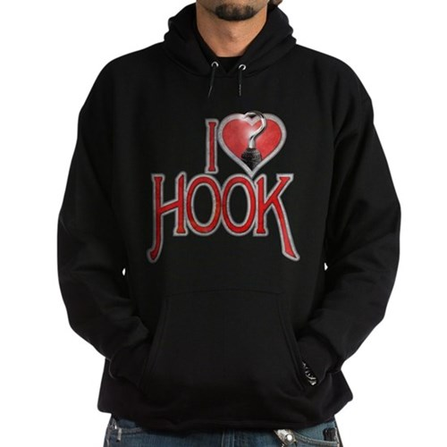 I Heart Hook Hoodie (dark)