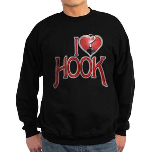 I Heart Hook Sweatshirt (dark)