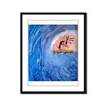 Koko-Bunga Framed Panel Print