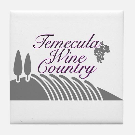 Temecula Wine Country Tile Coaster