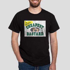 World's Cheapest Bastard Ash Grey T-Shirt