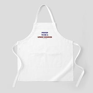Proud Union Worker BBQ Apron