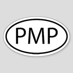 PMP Oval Sticker
