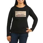Ron Paul Preamble-C Women's Long Sleeve Dark T-Shi