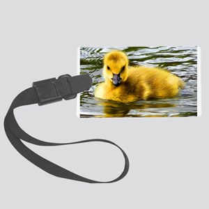 Baby Goose Luggage Tag