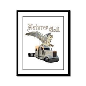 Natures Call Framed Panel Print