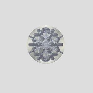 Nebari Snowflake Mini Button
