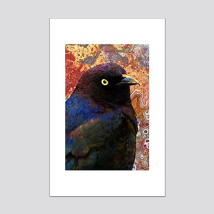Black Bird texture Posters