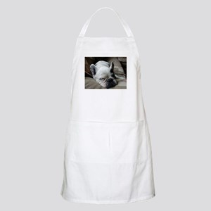 Pied French Bulldog Apron